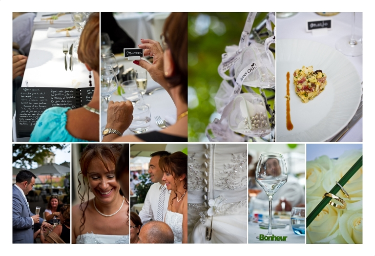 Photographie mariage repas Cannet - CP