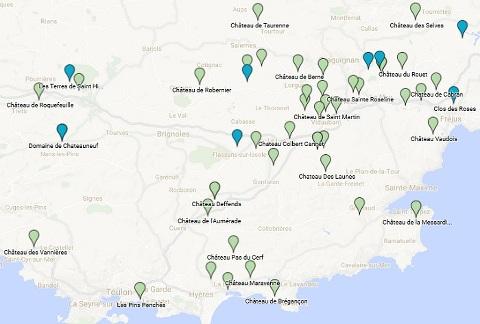cliquez sur limage pour dcouvrir la carte interactive goolge maps - Domaine Viticole Mariage Var