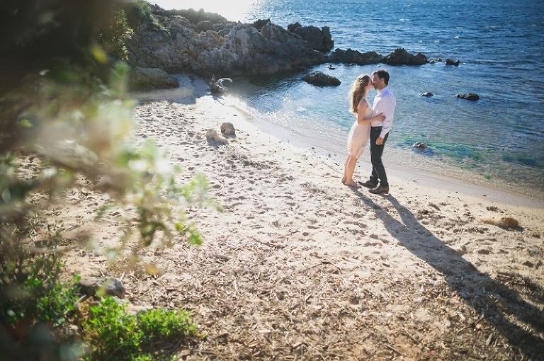 Séance Engagement Mariage Cap d'Antibes1